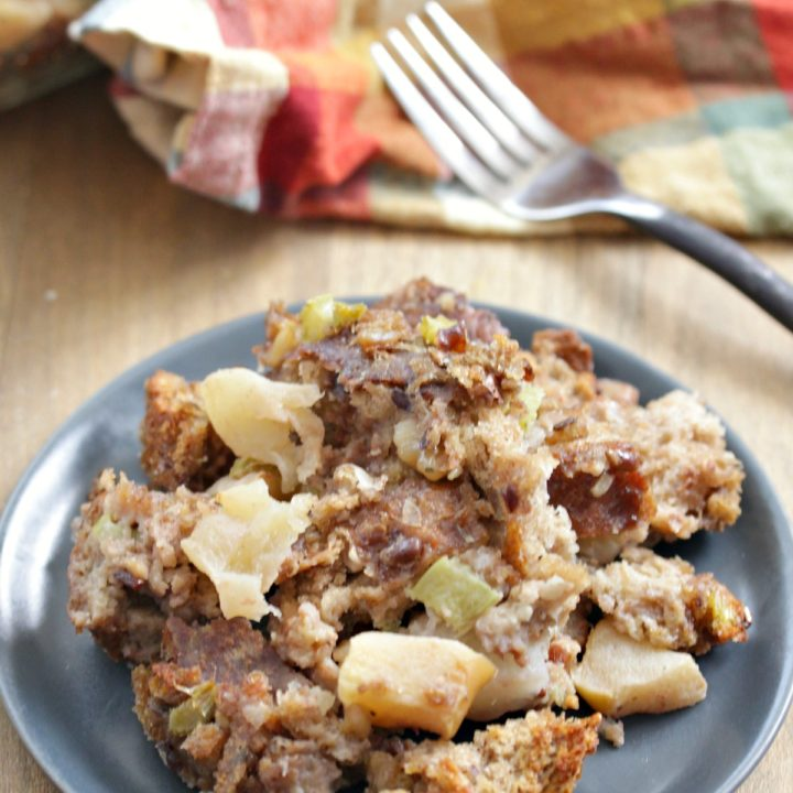 Whole Wheat Apple Walnut Stuffing